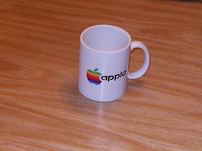 Apple Computer Logo Rainbow Logo Apple Mug Comfortabel En Gemakkelijk Te Dragen