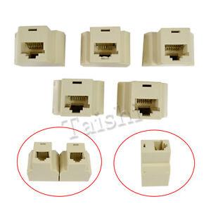 Das Bild Wird Geladen Ethernet Lan Isdn Adapter Kupplung Splitter ...