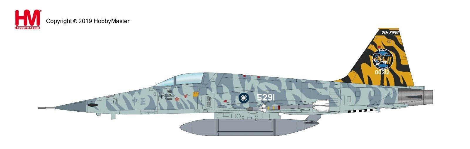 nueva gama alta exclusiva Hobby Master HA3333, Northrop Northrop Northrop F-5E Tiger II 00312, 7th FTW, ROCAF, 2018  venta con descuento