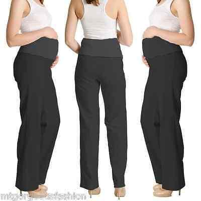 Il Prezzo Più Economico Maternità Gravidanza Biancheria Pantaloni Pants In Contrasto Taglia 8 10 12 14 16 18 Nero-mostra Il Titolo Originale