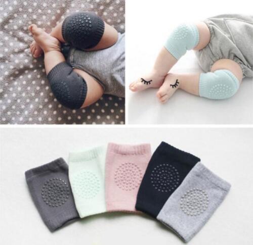 Kids Infant Toddler Baby Anti-slip Elbow Cushion Crawling Knee Pads Leg Warmers