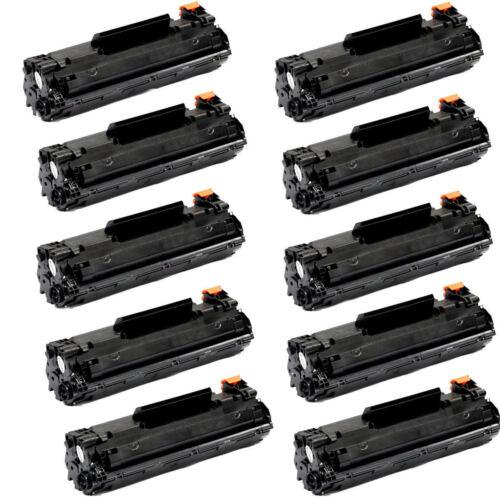 10PK CE278A NON-OEM New Black Toner for HP 78A LaserJet P1566 P1606dn M1536dnf