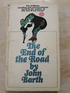 THE-END-OF-THE-ROAD-John-Barth-1969-First-Printing-Bantam-Books