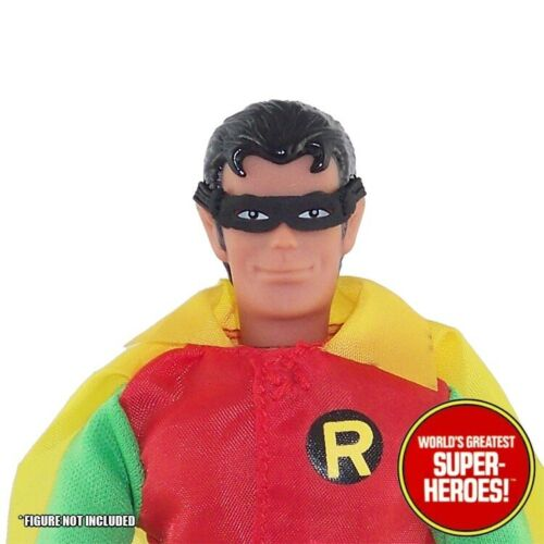 """Mego Robin Fabric Mask Reproduction For 8"""" Action Figure WGSH Custom Parts Lot"""