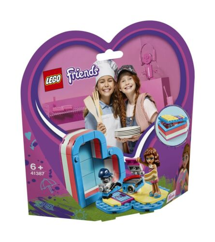 LEGO® Friends 41387 Olivias sommerliche Herzbox