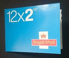 BLUE MACHIN 12 x 2ND CLASS FORGERY STAMP BOOKLET - M12L