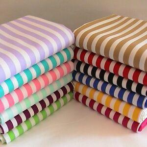8mm-Candy-Striped-Fabric-Fat-Quarter-Half-Metre-or-Metre-100-Cotton