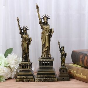 The Statue of Liberty Model Figurine Model Metal Crafts for Home Decor