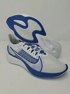 Nike-Zoom-Gravity-Men-s-Running-Athletic-Shoes-White-Clear-Racer-Blue-Size-11