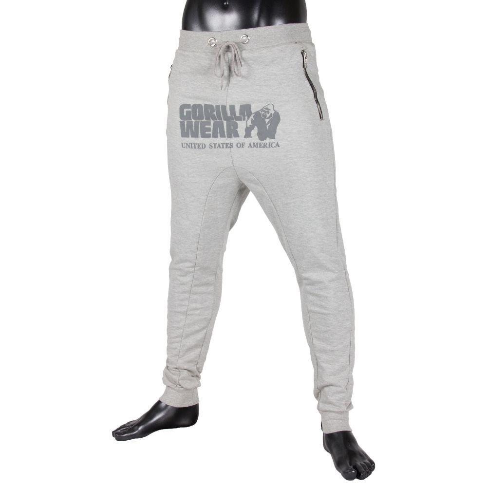 Gorilla Wear Gris Alabama Drop Crotch Joggers Gris Wear 34c583
