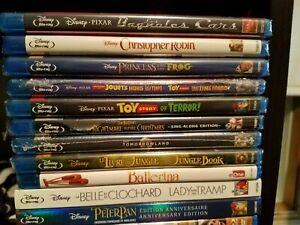 Various-Family-amp-Kids-Animated-Bilingual-Movies-Bluray-DVD-Disney-Pixar-etc