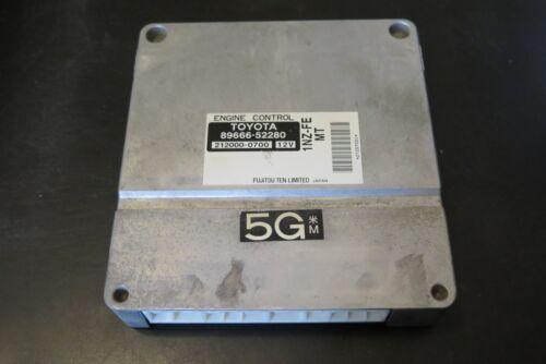 2004 Scion xB Engine Computer 89666-52280 ECU 212000-0700 1.5l M//T VVT-i ECM OEM
