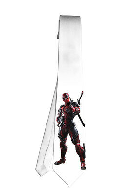 Avengers DeadPool Marvel Necktie Neck Tie Halloween Cosplay Costumes