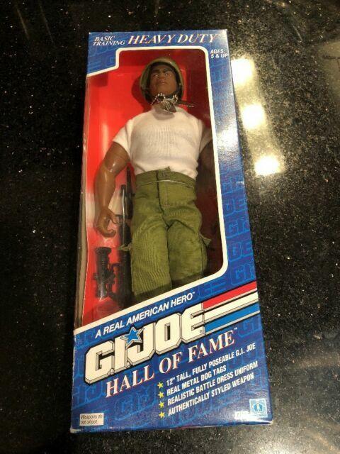 Hasbro 6114 A real American Hero Joe Basic Training Heavy Duty 12 Action Figure Hall of Fame 1992 G.I