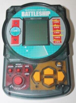 Adaptable Vtg Battleship Milton Bradley Electronic Game Video Hand Held 1995 -works-tested