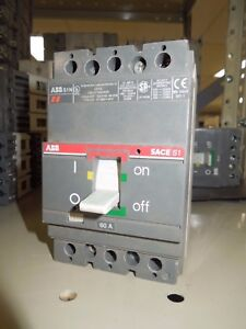 Details about ABB SACE S1 S1N 60A 3P 277/480V Circuit Breaker Used