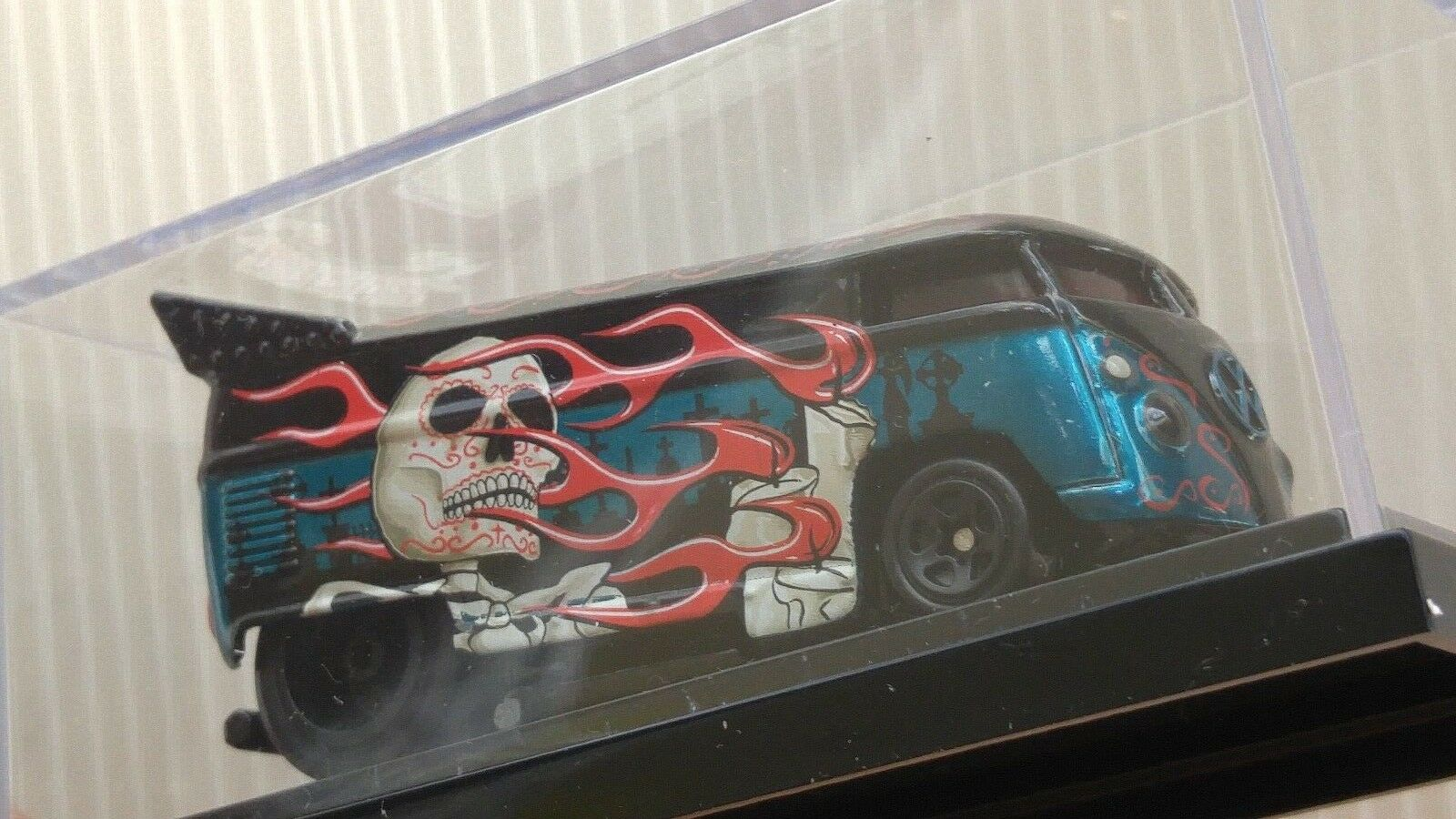 Hot Wheels Liberty Promotions Halloween VW DRAG BUS Day of the Dead 0937 1000