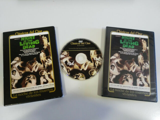The Night of the Living Dead Night of the Living Dead DVD Spanish English