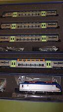 """Vitrains Treno Regionale  """"Vivalto"""" livrea DTR completo locomotiva E464"""