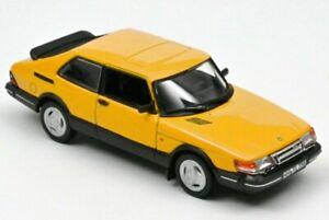 SAAB 900 Turbo 16 - 1991 - yellow - Norev 1:43