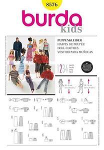 BURDA-SEWING-PATTERN-DOLLS-CLOTHES-versatile-wardrobe-8576-A