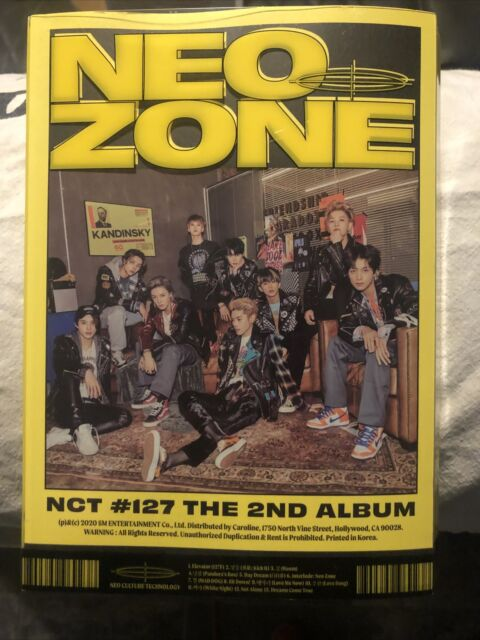 NCT #127 - Neo Zone The 2nd Album - N Version Yellow - Now Priced To Move