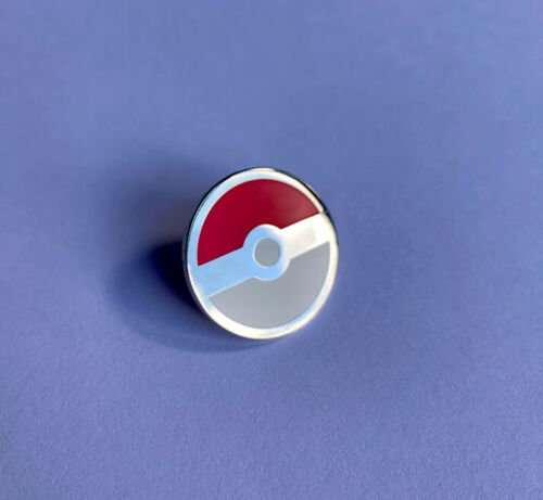Pokemon Gift Pokeball Pin Badge High Quality