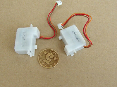 2pc DC3.6-6V 6G Micro Gear Servo Steering Engine Rudder for RC Aircraft Car Boat
