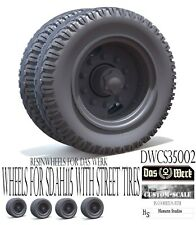 1:35 Das Werk Custom-Scale DWSC35001 Wheels for Faun L900 aus Resin