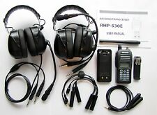 Rexon RHP-530 Radio Intercom+2headset package for LSA Ultralight 2 seat aircraft