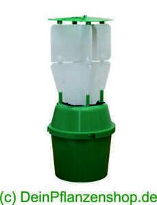 Himbeerkaefer-Falle-Trichterfalle-inkl-1-Stueck-Lockstoff-Dispenser