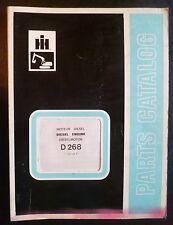 IHC Dieselmotor D268 Ersatzteilkatalog