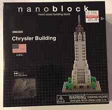 NEW Nanoblock Chrysler Building Micro-Sized Building Block Set NBA_004