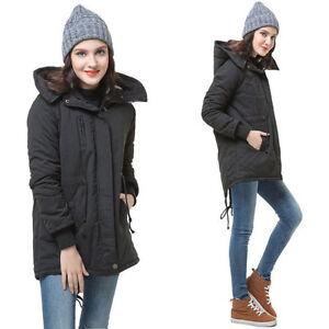 Das Bild wird geladen Damen-Winter-Jacke-Mantel-Winterjacke-Wintermantel- Parka-Gr- f28f038f3a