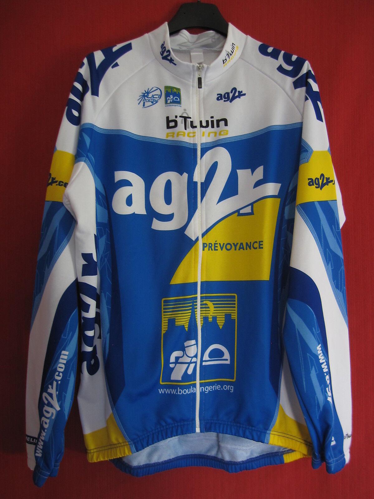 Maillot cycliste AG2R B'Twin France Racing Decathlon Intégral Tour de France B'Twin Shirt - XL cfb8cc