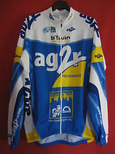 Maillot-cycliste-AG2R-B-039-Twin-Racing-Decathlon-Integral-Tour-de-France-Shirt-XL