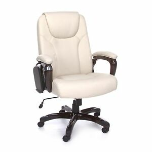 Image Is Loading High Back Multi Task Cream Color Executive Office