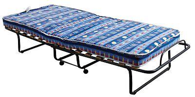 Brandina letto trasformabile pieghevole per ospiti materasso con rete ortopedica ebay - Letto pieghevole con materasso ...