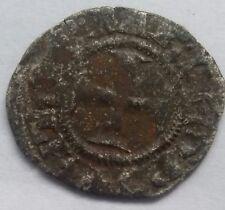 1625. crusander denier 1297-1305 Princedom of Acaia Philip of Taranto Nf +5-