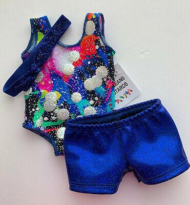 "3 Gymnastics Dance Leotards Clothing to fit 18/"" American Girl Dolls"