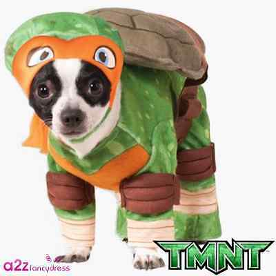 MICHELANGELO DOG PUPPY PET TEENAGE MUTANT NINJA TURTLE TMNT COSPLAY COSTUME
