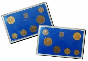 Israel-Official-New-Sheqel-Hanukka-Mint-Coins-Set-1988-Uncirculated