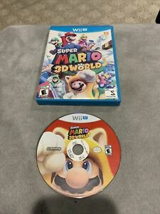 Super Mario 3D World (Wii U, 2013) - No Manual, Disc In Very Good Condition