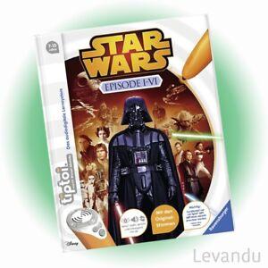 RAVENSBURGER tiptoi® Buch - STAR WARS™ Episode I-VI - NEU