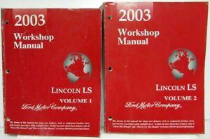 2003 Lincoln LS Service Shop Repair Manual Original Volume ...