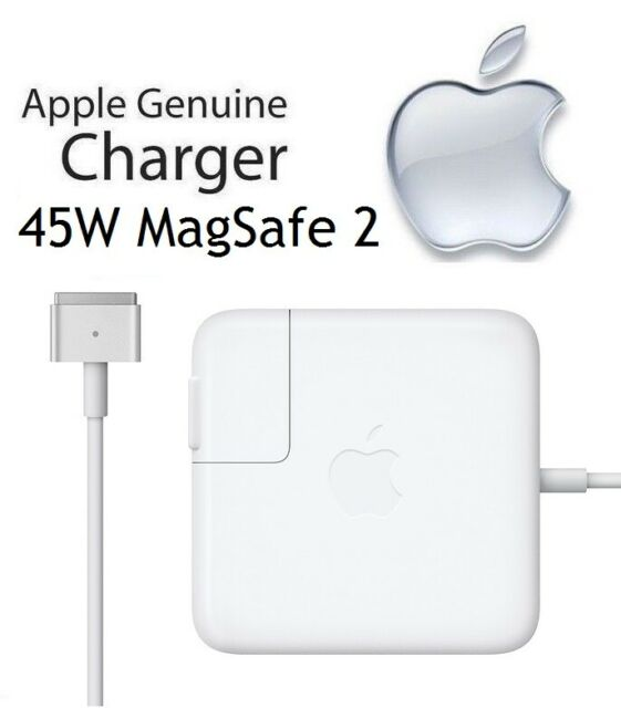 Genuine Apple MacBook Air 45W MagSafe 2 Power Adapter Charger (MD592LL/A) A1436