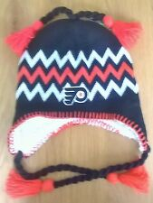 Philadelphia Flyers NHL Zephyr Sherpa Winter Knit Hat