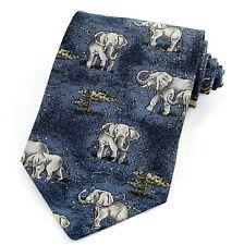 Vintage Endangered Species Brown Bears  Necktie Beautiful  100 /% Silk