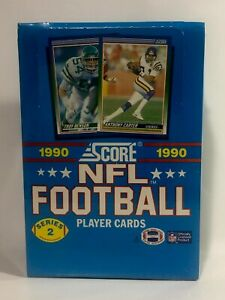1990-Score-Football-series-2-Football-factory-sealed-card-box-36pks