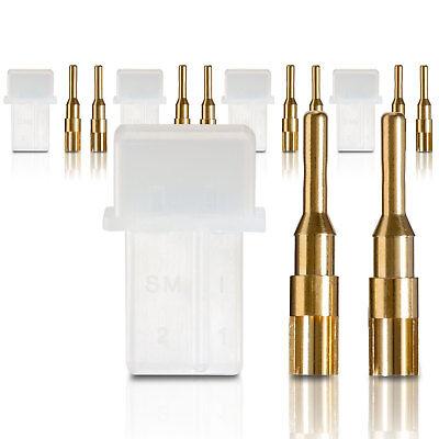 Amp Connettori Spina Pesanti Con Spine In Oro 5 Pz. Partcore 100179 I Consumatori Prima